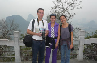 On Fubo Hill in Guilin