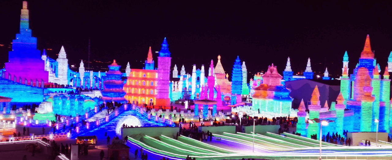 Winter Festival 2020.Harbin Ice Snow Festival 2019 2020 China Winter Travel Tours