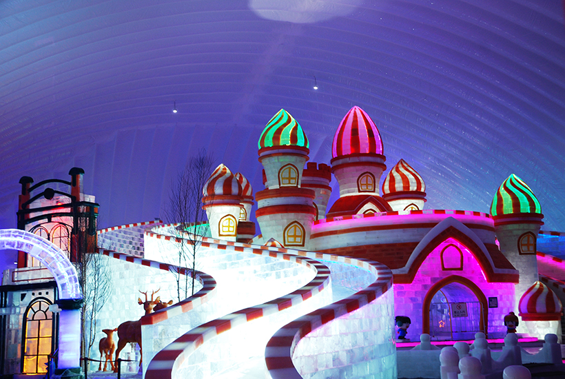 The 34th Harbin Ice And Snow Festival 2018