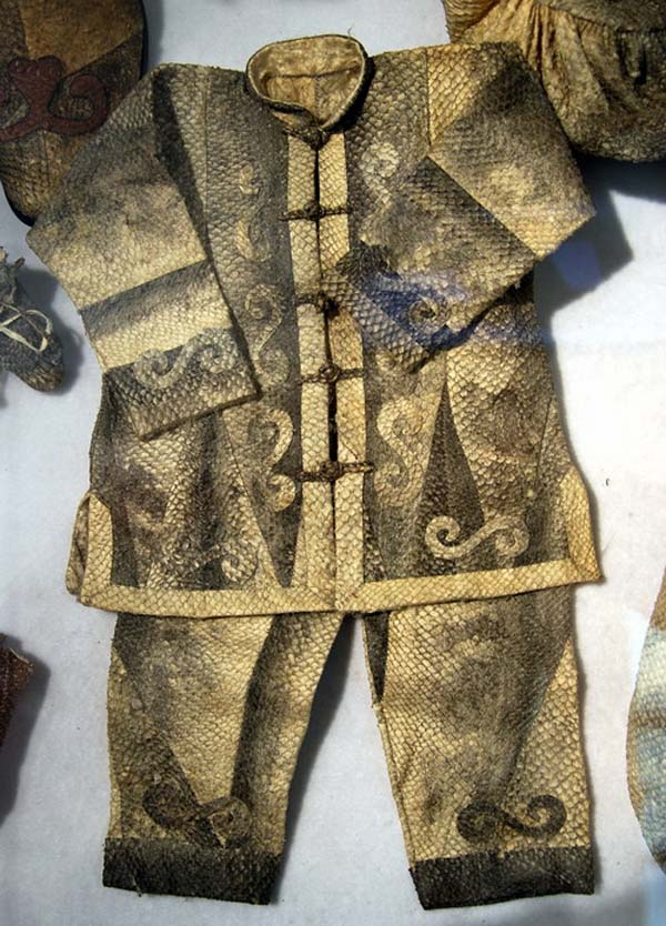 Photo Image Amp Picture Of Fish Skin Clothes Of Hezhe