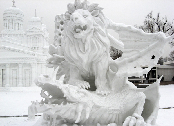 photos images pictures of ice sculpture harbin ice festival