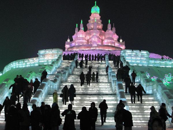 Esculturas de hielo impresionantes