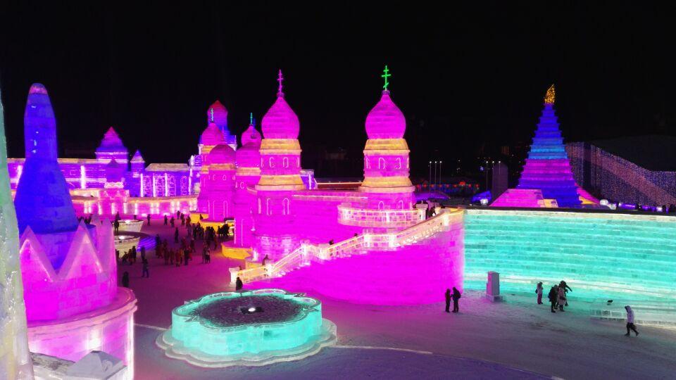 2018  2019 Harbin Ice  U0026 Snow Festival  Harbin Ice Lanterns