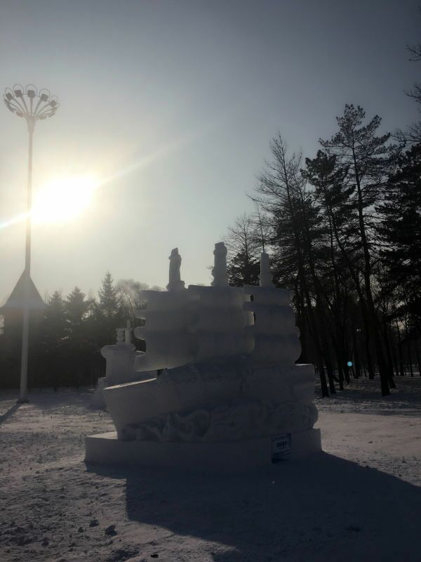Snow Sculptures Of Harbin Ice Snow Festival 2016