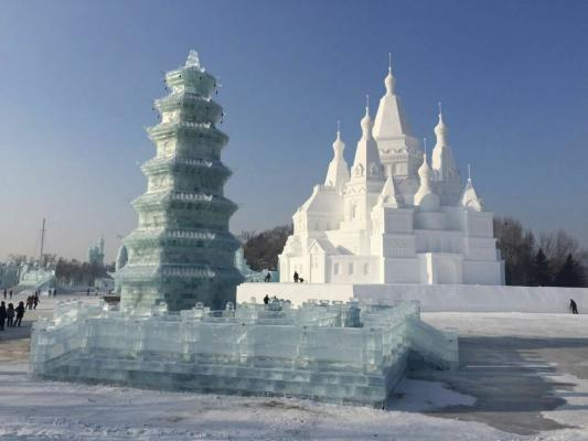 Harbin Ice Snow Festival 2016 2017 China Harbin Ice
