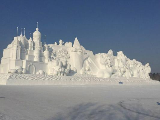 Harbin Ice Snow World 2017 China Harbin Ice Festival 2017