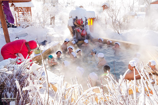 Photo  Image  U0026 Picture Of Chinese Harbin Lindian Hot Spring