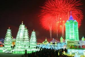 Hot Harbin Ice Festival Attractions