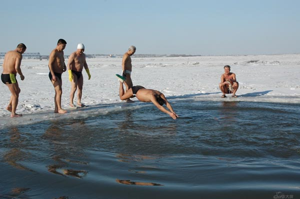 Αποτέλεσμα εικόνας για swimming winter
