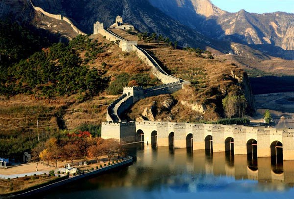 Huludao China  City pictures : Photo, Image & Picture of Huludao Jiumenkou Great Wall Of China